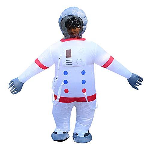 LINAG Fasching Aufblasbares Kostüm für Cosplay Party Kostüm, Aufblasbares Raumanzug Kostüm für Erwachsene Karneval Halloween Kostüm,A,OneSize
