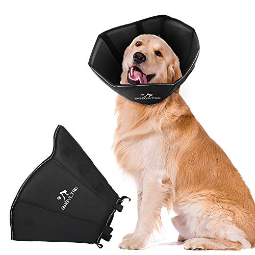 BABYLTRL Dog Cone Collar for After Surgery, Soft Pet Recovery Collar for Dogs and Cats, Comfy Cone Collar Protective Collar for Large Dogs Wound...