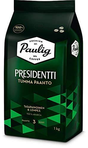 Paulig Presidentti Dark Roast bean Kaffee 1 Pack of 1kg