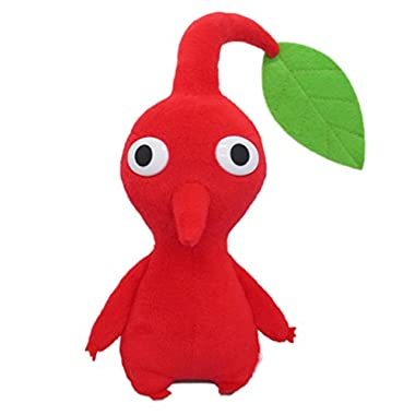 Little Buddy Pikmin Red Leaf Plush, 6
