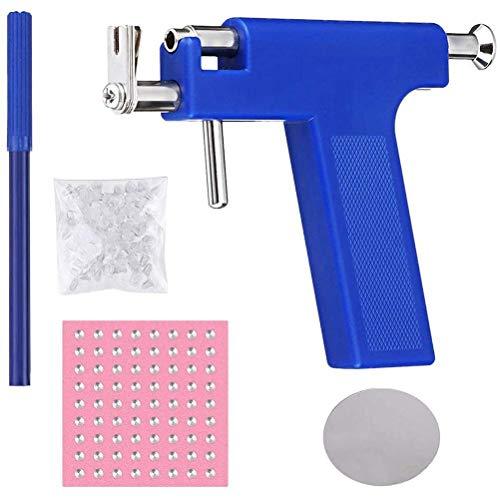 Kit de herramientas de perforación corporal de acero inoxidable, kit de herramientas de perforación de orejas, conjunto de herramientas de perforación de pendientes, herramientas de perforación