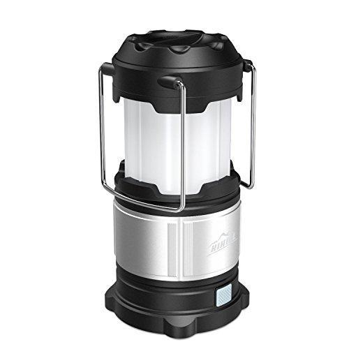 HiHiLL Lampara Camping Farol Camping 21 LED Bombillas Resistente al Agua USB...