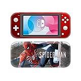 Spiderman Nintendo Switch Lite Console Skin, Decal, Vinyl, Sticker, Faceplate - Skin Design - Protective Cover LITE