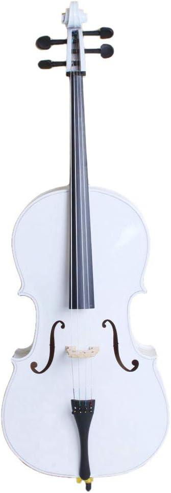 LYKOS unisex 4 Acoustic Cello + Case Wood Max 54% OFF Beautif Bow Color Rosin