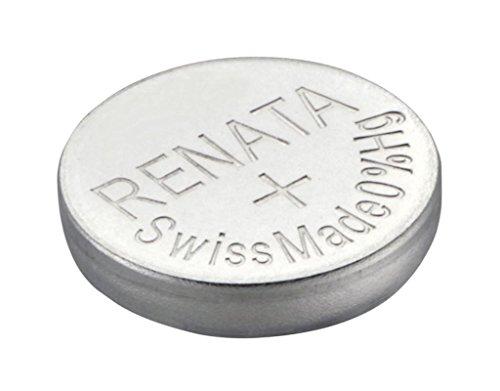 Renata SR41W 392 Pile bouton Argenté 1,55 V Fabriquée en Suisse électronique 785618392319 Batteries Piles pour montre