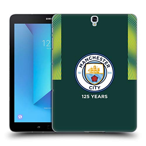 Head Case Designs Officially Licensed Manchester City Man City FC Home Goalkeeper 2019/20 Badge Kit Hard Back Case Compatible with Samsung Galaxy Tab S3 9.7