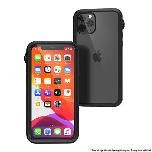 Catalyst - Hülle für iPhone 11 Pro mit durchsichtigem Rückseite, 3 Meter Fallschutz, Truss-Dämpfungssystem, Mute-Schalter, kompatibel mit kabellosem Aufladen, Lanyard, iPhone 11 Pro case - Schwarz