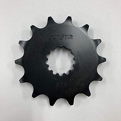 サンスター(SUNSTAR) フロントスプロケット 520-14  D-TRACKER(01-)/KLX250(01-)/Ninja250R 378-14