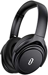 Advanced Active Noise Cancelling Technology: TaoTronics Bluetooth headphones come with professional active noise cancelling function let you immerse yourself in music world without noise,no matter you are in a noisy street, busy subway or bus, flight...