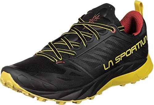 LA SPORTIVA Kaptiva, Zapatillas de Trail Running Hombre, Black/Yellow, 40 EU