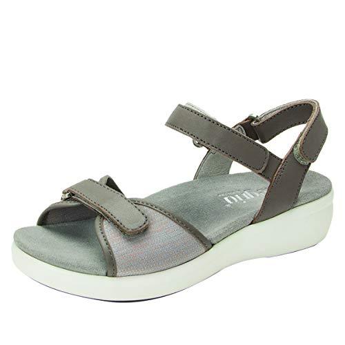 Alegria TRAQ Qali Womens Smart Walking Shoe Grey 7 M US