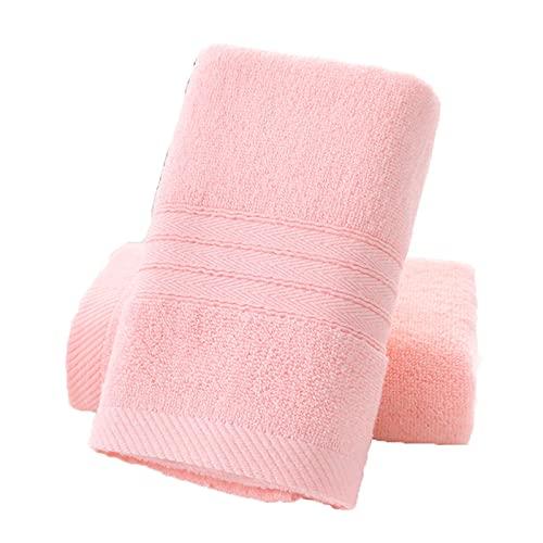 CANASG Juego de 2 toallas de algodón de secado rápido, súper suave y altamente absorbente, toalla de mano para baño
