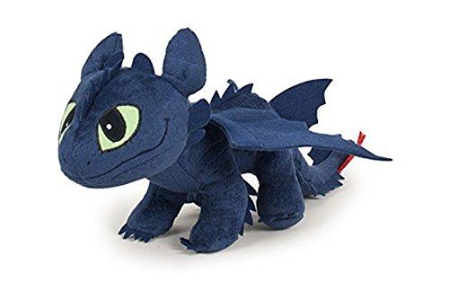 Sdentato Furia Buia 40cm Nero Peluche Film Dragon Trainer 2 How To Tran Your Dragon 2 (HTTYD) Originale Filme