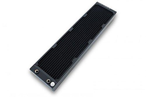 EK Water Blocks CoolStream XE 480 - Sistema de refrigeración líquida para el Ordenador (H90, 450mL, 4X G1/4,), Color Negro