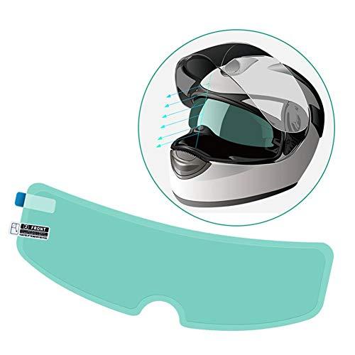 Protector de pantalla para casco de moto, impermeable, universal, antivaho, protector solar, para scooter, moto