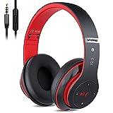 Kabellose Kopfhörer Over Ear, Bluetooth Wireless Kopfhörer HiFi Stereo...