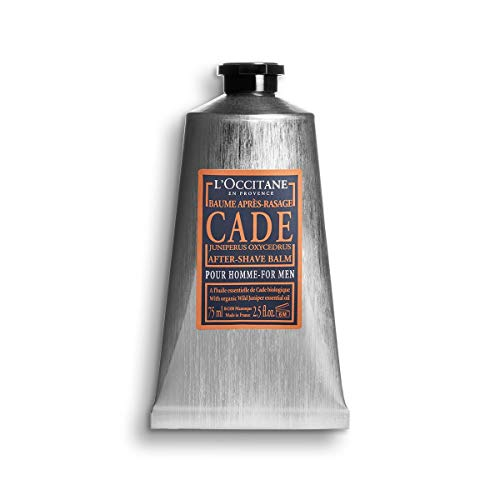 L'Occitane Soothing Cade After Shave Balm for Men with Shea Butter, 2.5 Fl Oz