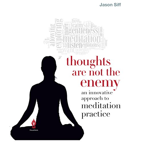 Thoughts Are Not the Enemy audiobook cover art