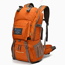 MOUNTAINTOP 40L Hiking Backpacks with Rain Cover for Women Men
