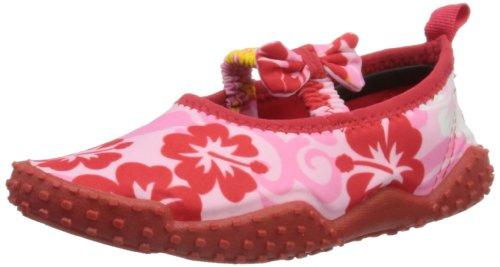 Playshoes Aquaschuhe, Badeschuhe Hawaii, UV-Schutz nach Standard 801 174769, Mädchen Dusch- & Badeschuhe, Pink (original 900), EU 32/33