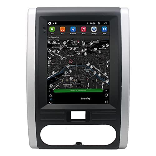 ADMLZQQ Android 10 HD Pantalla TáCtil NavegacióN GPS Reproductor De Pantalla Vertical De Radio EstéReo para AutomóVil para Nissan X-Trail2008-2013,con FM/WiFi / Mp5
