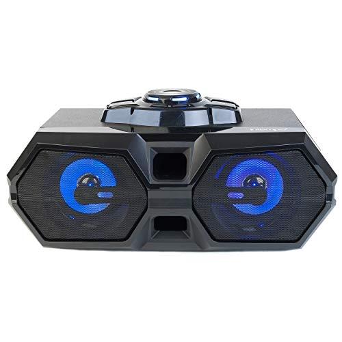 Intempo® EE4469STKEU Bluetooth-LED-Party-Lautsprecher, wiederaufladbar, für iPhone, Android und andere SmartUSB-Geräte