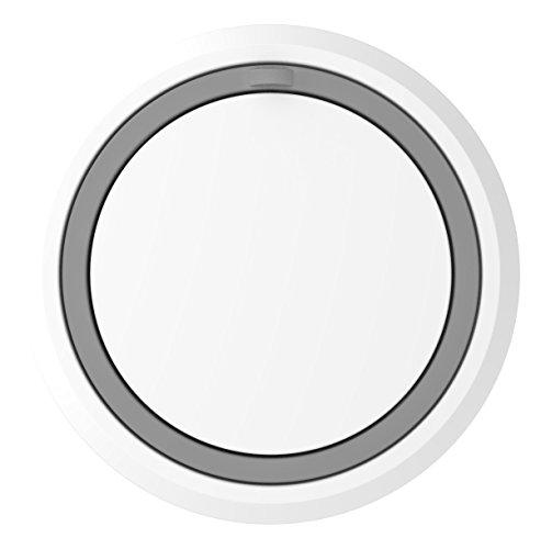 Honeywell Home DCP711 Draadloze deurbel met led-functieweergave, rond, wit