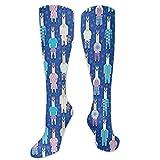 Jessicaie Shop Llittle Llamas Llove Pyjamas Compression Socks es el mejor graduado atlético y médico
