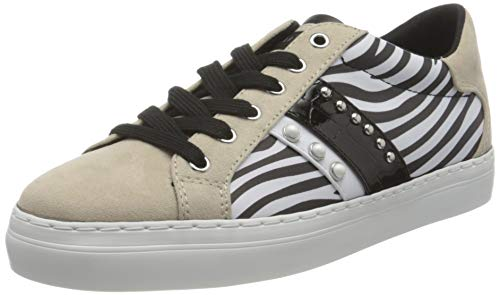 Guess GRASEY/Active Lady/Leather LIK, Oxford Plano Mujer, Blanco, 38 EU