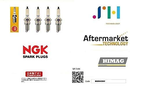 4 Candele NGK BKR6EKC Multipla 1.6 1.6 16v Natural Polwer Bipower Blupower