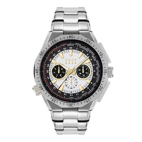 CCCP Reloj de cuarzo Russia Timezone - CP-7034-33
