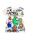 Among Us Camiseta de Manga Corta para niño, Urban 14