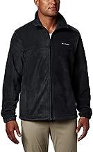 Columbia Apparel Steens Mountain Full Zip 2.0 Soft Fleece Jacket, Black, X-Large