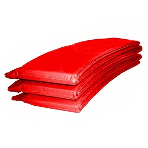 Baunsal GmbH & Co.KG Randabdeckung Federabdeckung Randschutz Abdeckung rot für Trampolin 305 bis 310 cm