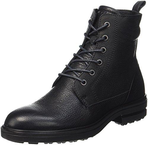 ECCO Damen ZOE Combat Boots, Schwarz (Black/Black), 40 EU