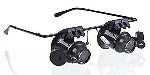 Gafas Lupa RELOJERO MAX DUO para relojería con LED