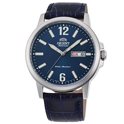Orient Herren Analog Automatik Uhr mit Leder Armband RA-AA0C05L19B