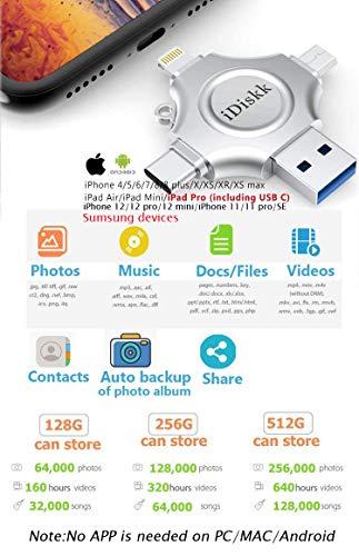 iDiskk MFI Certified 256GB Photo Stick Product Image