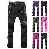 Overdose Pantalones Piratas Hombre Pantalones Outdoor para Hombre Pantalones Multibolsillos con Cintura...