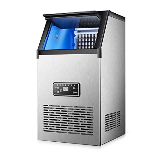 Ice Makers YX Máquina de Hielo Comercial Máquina de Hielo Industrial Pantalla HD Limpieza con un botón 12 Minutos Fabricación rápida de Hielo