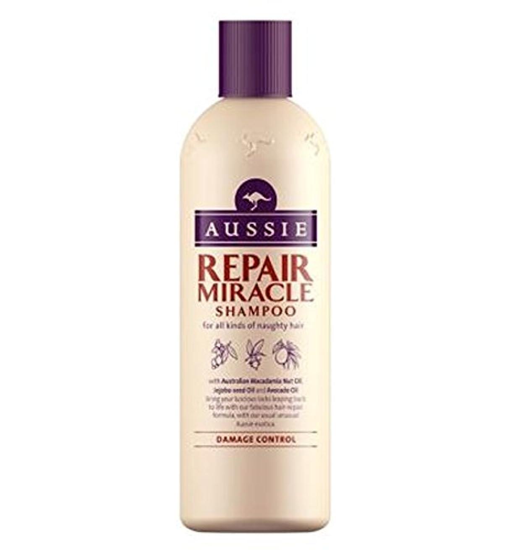 スコア下る労働者Aussie Shampoo Miracle Repair for damaged hair 300ml - 傷んだ髪の300ミリリットルのためのオージーシャンプー奇跡の修理 (Aussie) [並行輸入品]