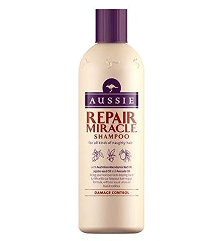 説得征服する卑しいAussie Shampoo Miracle Repair for damaged hair 300ml - 傷んだ髪の300ミリリットルのためのオージーシャンプー奇跡の修理 (Aussie) [並行輸入品]