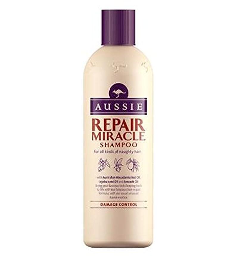 落胆した究極の圧縮傷んだ髪の300ミリリットルのためのオージーシャンプー奇跡の修理 (Aussie) (x2) - Aussie Shampoo Miracle Repair for damaged hair 300ml (Pack of 2) [並行輸入品]
