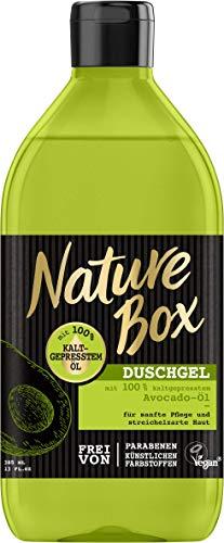 Nature Box Duschgel Avocado-Öl, 6er Pack (6 x 385 ml)