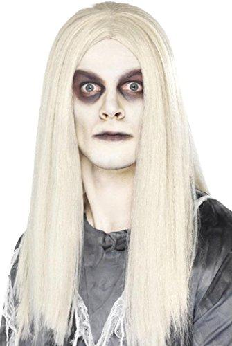 Vrouwelijke Halloween Fancy Dress Party Ghost Town Indian Pruik Grijs Club Hoofddeksels