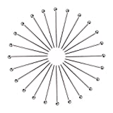 PH PandaHall 500pcs 20mm Stainless Steel Ball Headpins Sewing Pins DIY Jewelry Necklace Beading Making