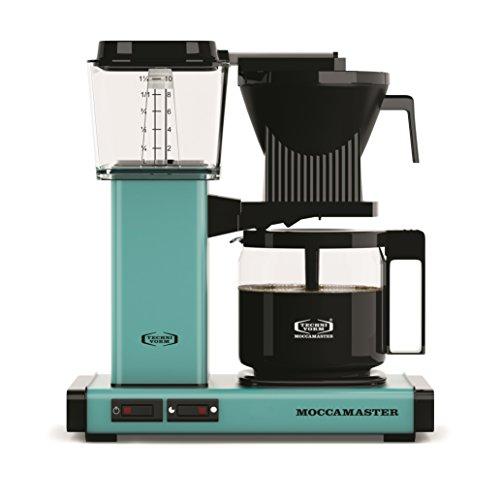Moccamaster Filter Kaffeemaschine KBG 741 AO, 1.25 Liter, 1520 W, Turquoise