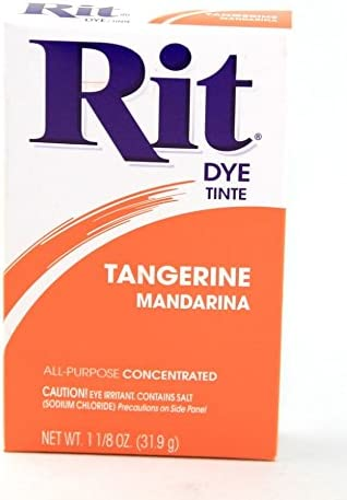 Rit Concentrated Powder Fabric Dye Tangerine Sales results No. Very popular! 1 - each