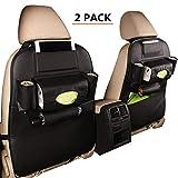 HYUGO Protezione Sedile Auto, Impermeabile Sedile Posteriore Auto Organizzatori, Organizer...
