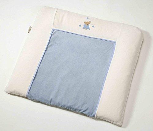 Easy Baby plastique de matelas à langer 85 x 75 cm VICHY Blue Car